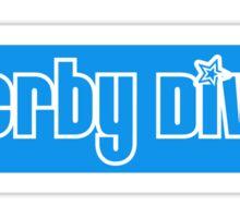 Derby Diva Sticker