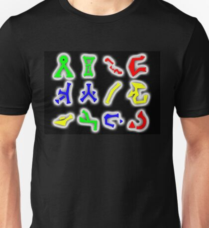 Stargate Glyphs Unisex T-Shirt