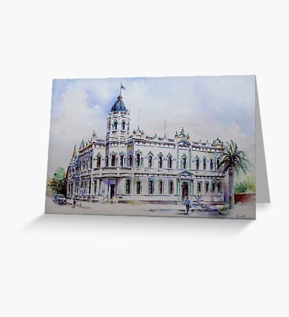 Forbes Town Hall Greeting Card