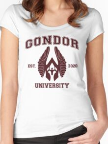 Gondor University Women's Fitted Scoop T-Shirt