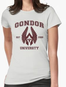 Gondor University Womens Fitted T-Shirt