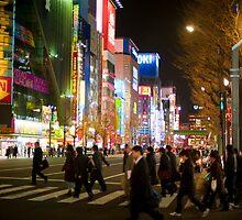 akihabara streets by photoeverywhere