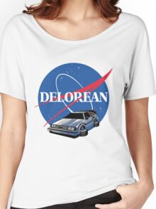 DELOREAN SPACE Women's Relaxed Fit T-Shirt