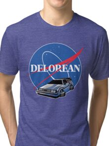 DELOREAN SPACE Tri-blend T-Shirt