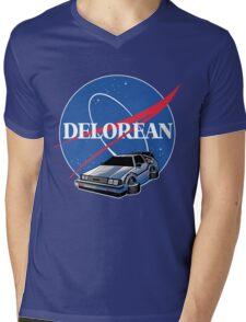 DELOREAN SPACE Mens V-Neck T-Shirt