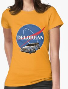 DELOREAN SPACE Womens Fitted T-Shirt