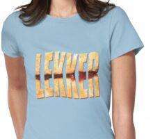 Lekker taart Womens Fitted T-Shirt
