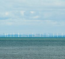 Offshore windfarm by photoeverywhere