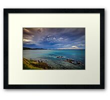 Anemone Clouds Framed Print