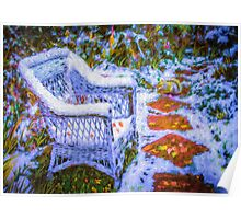 Wicker Snow Poster