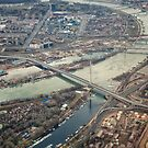 Belgrade Bridges by Janko Dragovic