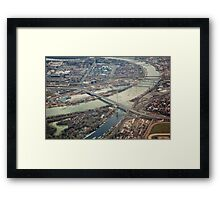 Belgrade Bridges Framed Print