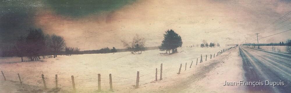 Winter road by Jean-François Dupuis