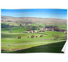 Yorkshire Dales near Wensleydale Poster