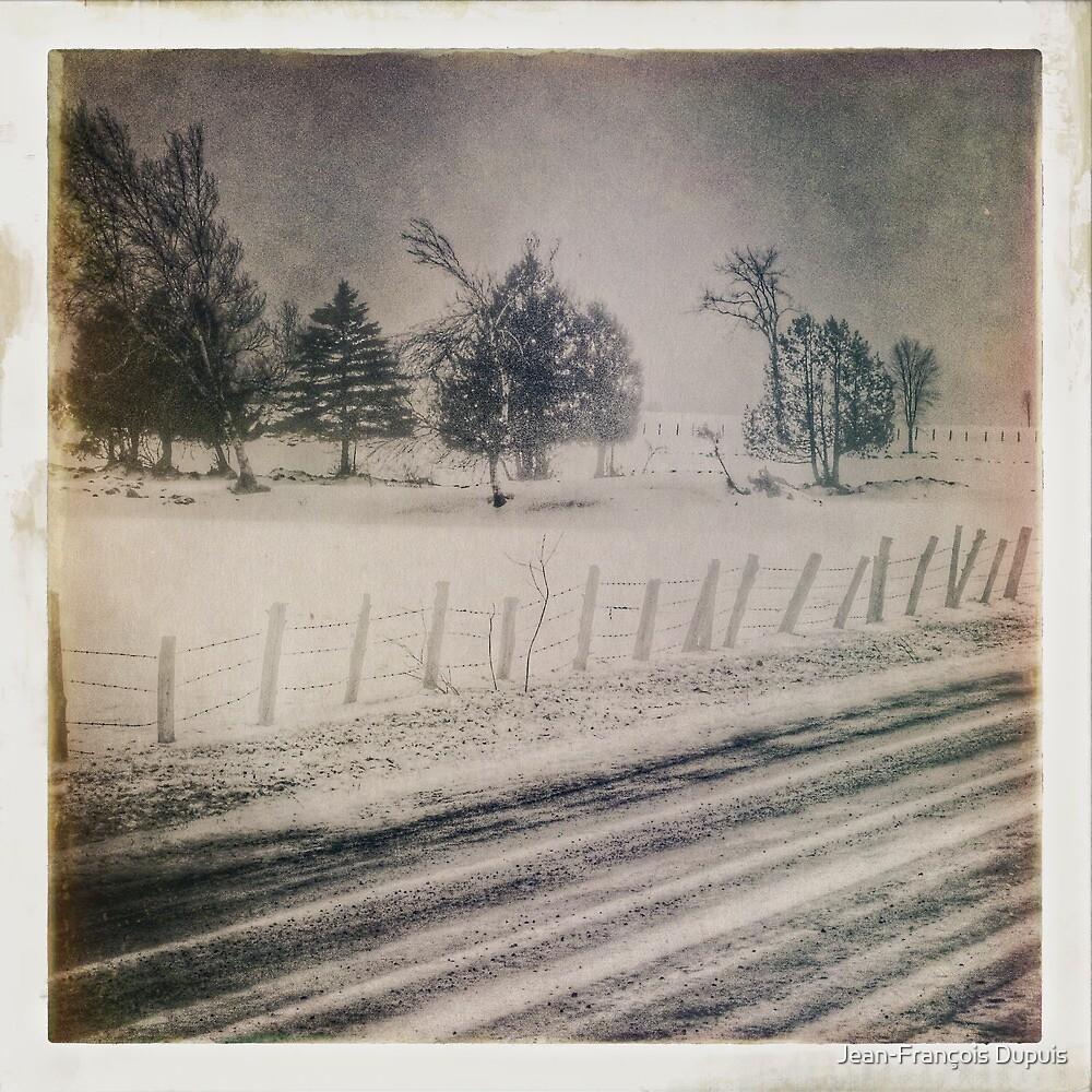 Winter scene by Jean-François Dupuis