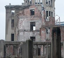 Atomic bomb dome hiroshima by photoeverywhere