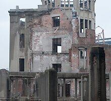 Atomic bomb dome hiroshima by photoeverywhere