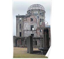 Atomic bomb dome hiroshima Poster