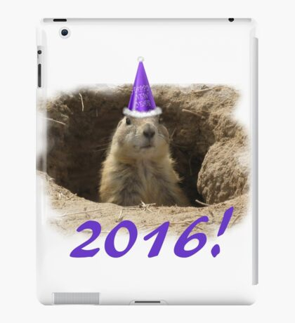 Prairie Dog New Year 2016 iPad Case/Skin