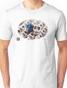 Blue And White Unisex T-Shirt