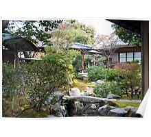 Isuien Garden tea Houses Poster