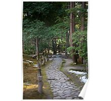 Isuien Garden Path Poster