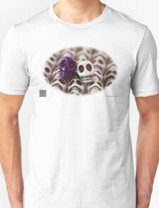 Purple And White T-Shirt
