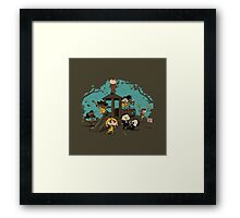 Quentin's Square Framed Print