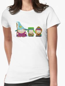 South Park LOTR Womens Fitted T-Shirt
