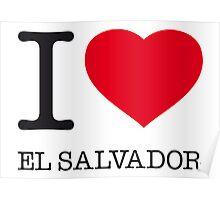 I ♥ EL SALVADOR Poster