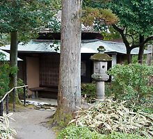 Isuien Garden Tea Ceremony House by photoeverywhere