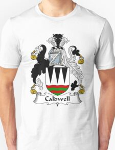 Caldwell Coat of Arms / Caldwell Family Crest T-Shirt
