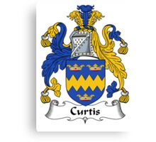 Curtis Coat of Arms / Curtis Family Crest Canvas Print
