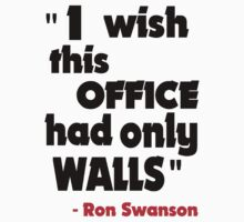 Ron Swanson - I Wish... by HalfFullBottle