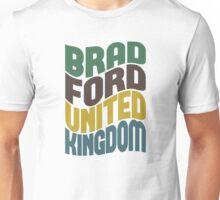 Bradford United Kingdom Retro Wave Unisex T-Shirt