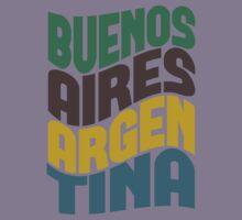 Buenos Aires Retro Wave Kids Clothes