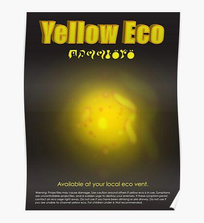 Yellow Eco Poster