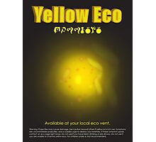 Yellow Eco Photographic Print