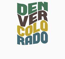 Denver Colorado Retro Wave Unisex T-Shirt