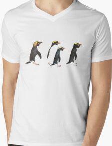 Penguin Group Mens V-Neck T-Shirt