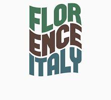 Florence Italy Retro Wave Unisex T-Shirt