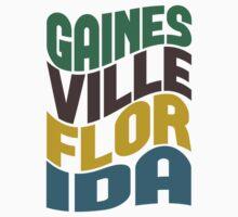 Gainesville Florida Retro Wave Kids Clothes