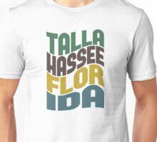 Tallahassee Florida Retro Wave Unisex T-Shirt