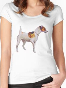 Jack Russel Terrier Women's Fitted Scoop T-Shirt