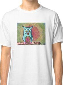 Trippy Owl Classic T-Shirt