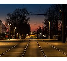 On The Rails Photographic Print