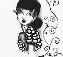 Fashion inspired Illustration by MADinks