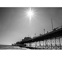 WORTHING PIER BEACH FRONT... Photographic Print
