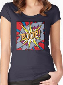 POOP! Women's Fitted Scoop T-Shirt