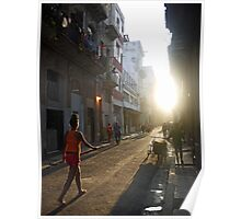 Late Evening, Havana Poster